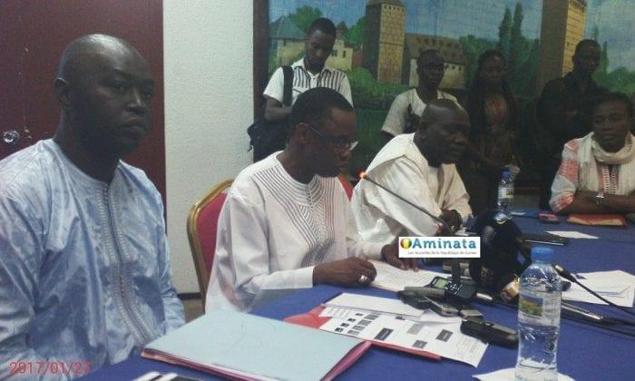 Bantama Sow et Paul Moussa Diawara