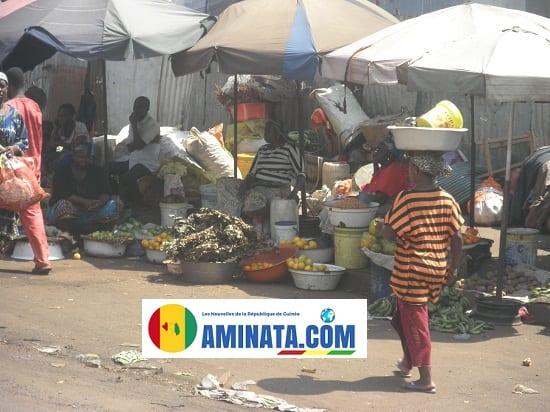 Cherté de la vie en Guinée, madina, prix, économie aux marchés, des femmes dénoncent