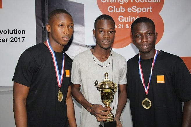 Orange Football Club eSport Guinée les 2 représentants de la Guinée sont connus