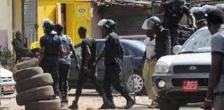 grève générale, police, manifestation, violence, affrontement