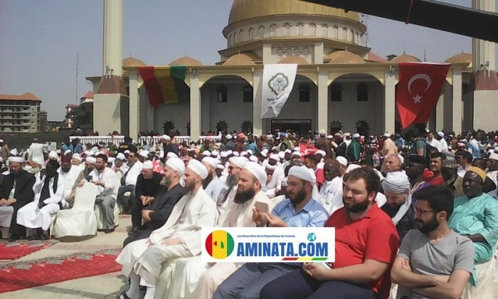 Abdoulhamd Han, coopération guinéo-turque nouveau centre islamique de Koloma .