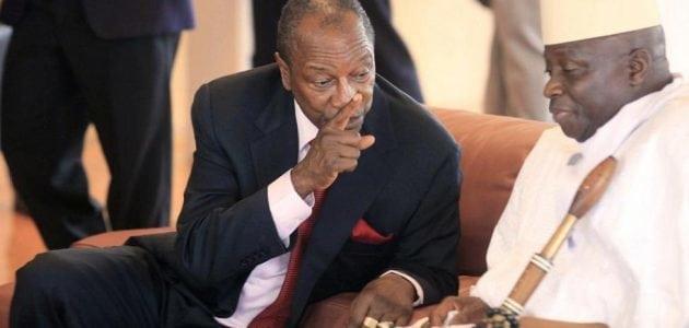 Alpha Condé et Yaya Jammeh