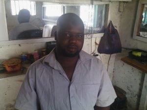 Falilou Baldé coiffeur