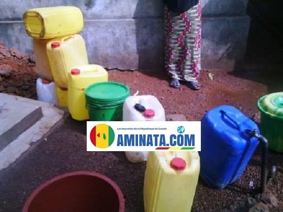 Pénurie d'eau à Conakry : les citoyens continuent de souffrir