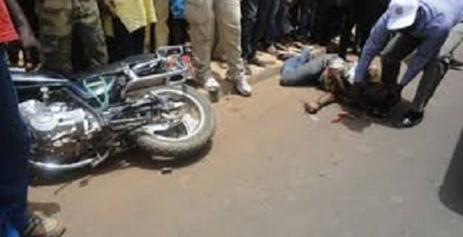 accident de circulation moto