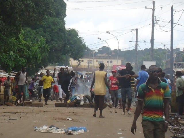 délestage à conakry