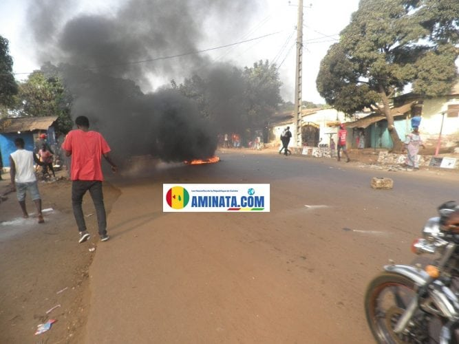 Violences affrontements à Conakry