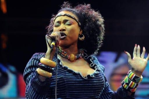 La chanteuse malienne Oumou Sangaré, le 23 juin 2012 à Essaouira au Maroc   AFP/Archives   FADEL SENNA