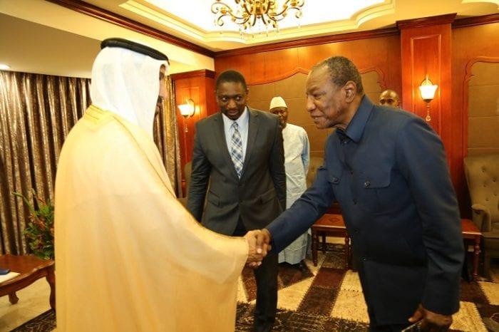 Coopération : un émissaire du Président des Emirats à Sékhoutouréya