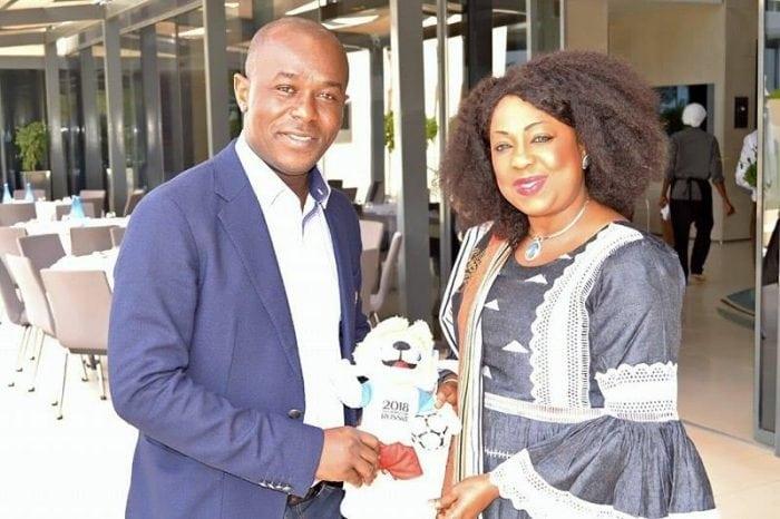 Amadou Diaby reçu par la secrétaire générale de la FIFA