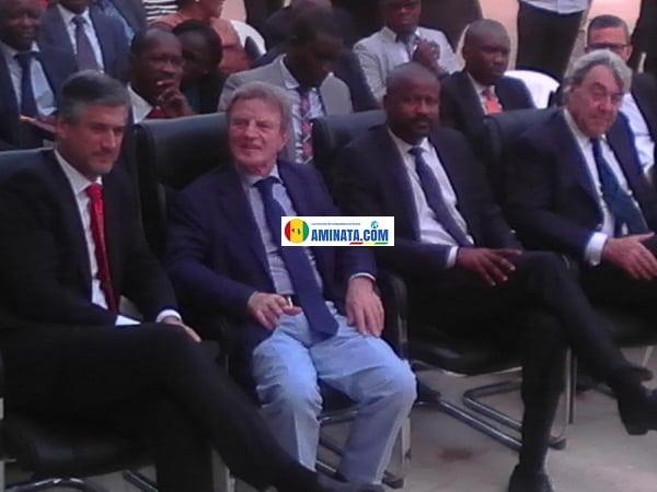 Bernard Kouchner refait surface à Conakry, moustapha mamy diaby