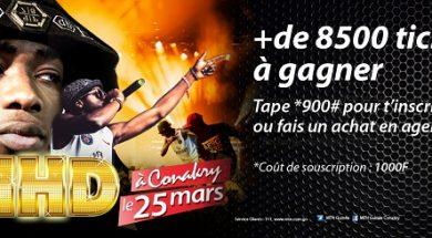 Gagnez un ticket pour le concert de MHD avec MTN