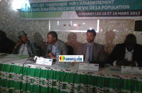 Insalubrité, mariador, concertation des acteurs sur l'assainissement de la ville de Conakry