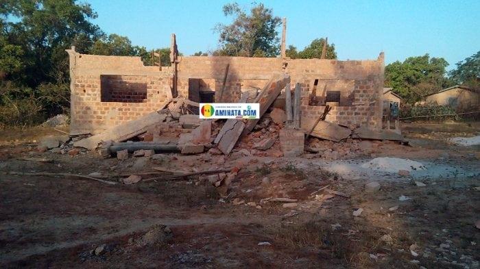 Labé le mur d'un chantier s'affaisse et tue un ouvrier au quartier Compayah