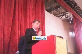 L'ambassadeur Etats unis Dennis Hankins