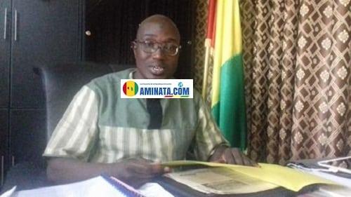 Mamady Kaba, président de l'Institut national des droits de l'homme, INIDH