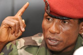 Moussa Dadis Camara, ancien chef du cndd