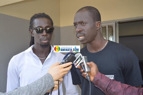 Moussa et Ablaye M'baye, deg J force3