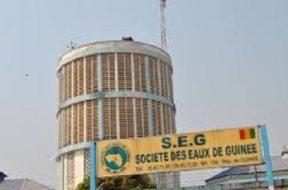 SEG, société des eaux de Guinée