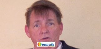 Denis Hatkins, ambassadeur des Etats-Unis à Conakry