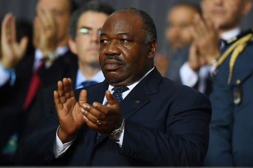 Le président du Gabon, Ali Bongo Ondimba, à Libreville le 5 février 2017 | AFP/Archives | GABRIEL BOUYS