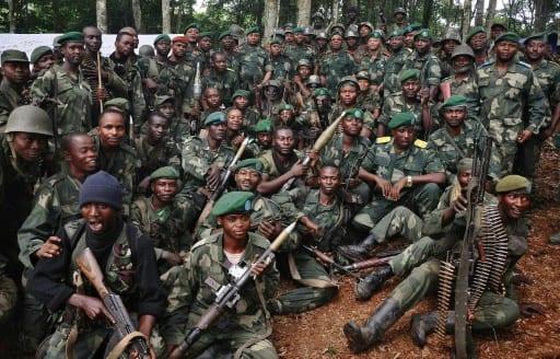 Soldats des Forces armées de la RD Congo à Beni, dans le Nord-Kivu, en mai 2014 | AFP/Archives | STRINGER