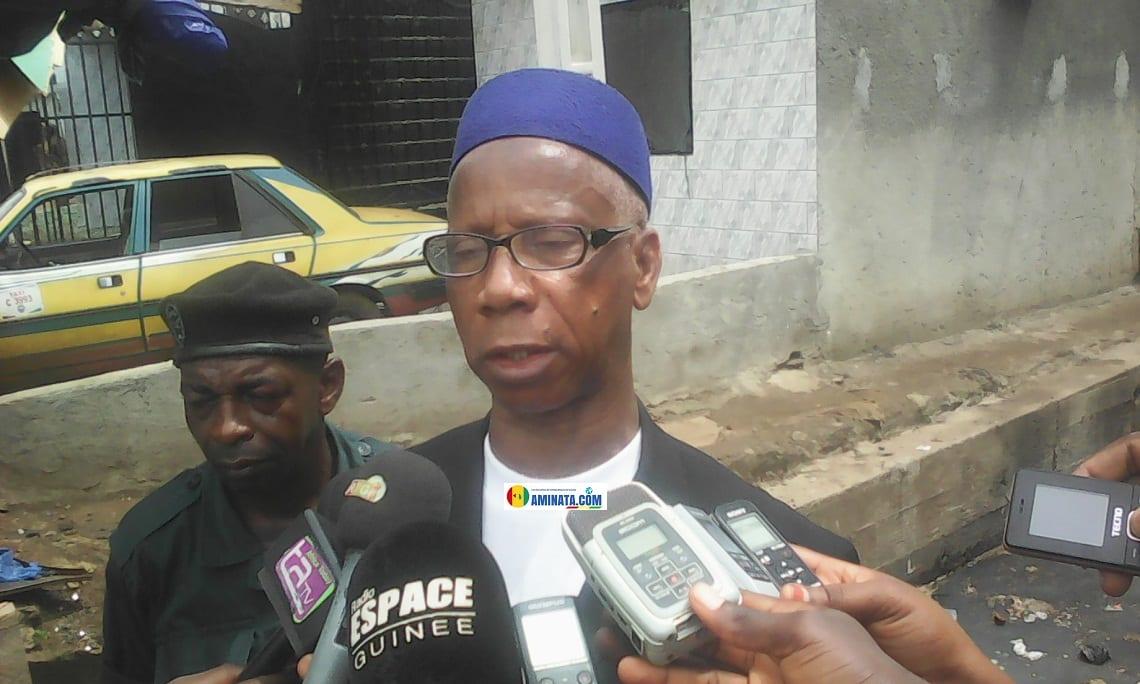 Mamadou Samba Diallo, nouveau maire de Dixinn