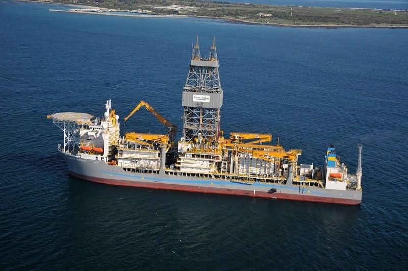 Puit de petrole en Guinee