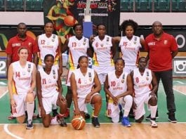 Equipe de Guinee women's Basket