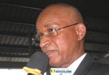 Cellou Dalein Diallo, président de l'UFDG