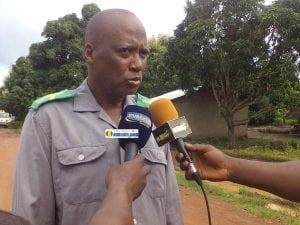 Souleymane Sow, sous-préfet de N'dema, préfecture de Dabola