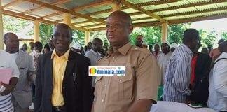 Sékou Souapé Kourouma accueilli chaleureusement par les citoyens de Guecké