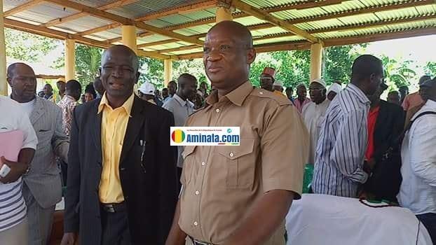Sékou Souapé Kourouma accueilli chaleureusement par les citoyens de Guecké (photo d'illustration)