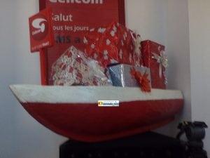 Une pirogue, l'ultime cadeau de Cellcom Guinée. Le tirage au sort prévu en décembre 2017