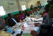 Des membres de l'UFR, du PEDN, du PGRP, du PUP, du PADES, du BL, du FIDEL discutent sur une éventuelle alliance électorale