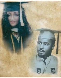 Mariame Sacko Hall Konaté et son défunt père, l'ancien diplomate Lansana Sako