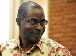 Le général Gilbert Diendéré, au tribunal de Ouagadougou, le 27 avril 2017 | AFP | Ahmed OUOBA