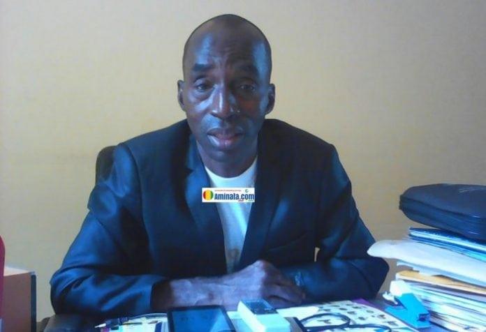 Amara Balato Keita, proviseur du lycée Kipé