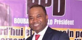 Boubacar Diallo, président du parti pour la paix et le développement (PPD)