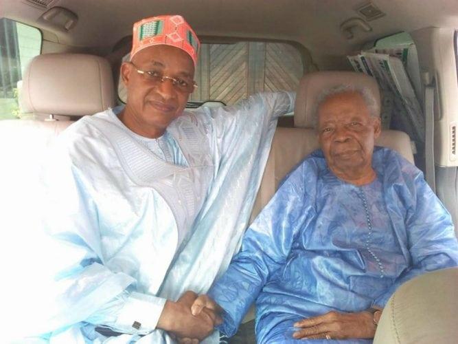 Cellou Dalein et Seydou Badian Kouyaté à Conakry