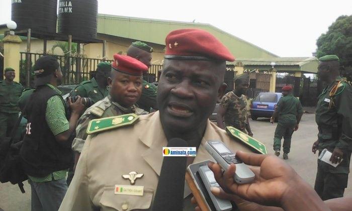 Général Edouard Théa, chef d'état-major adjoint de l'armée de terre