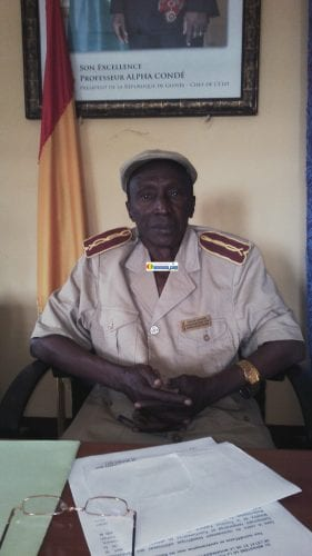 Hassane Sanoussy Camara, préfet de Koundara