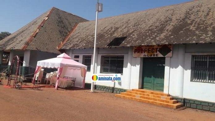 Le siège de la préfecture de Labé servant lieu de mariage