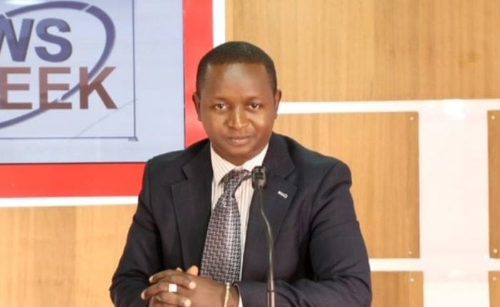 Moussa Moïse Sylla, journaliste au groupe Espace