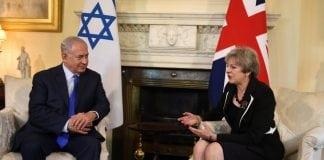 Theresa May et le premier ministre israélien à Londres assume la déclaration Balfour de 1917