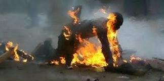 Une femme s'immole par le feu à Koubia