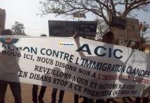 A Labé, des ONGs organisent une marche pacifique contre l'immigration clandestine