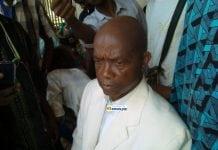 Aboubacar Soumah, leader du SLECG, syndicat libre des enseignants et chercheurs de Guinée