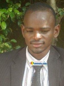 Ibrahim Kalil Diallo, président du Collectif des journalistes pour le soutien des actions présidentielles, CJSAP