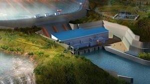 Le barrage de Souapiti